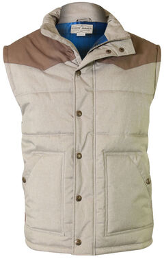 Cody James Men's Squaw Valley Tan Vest, Tan, hi-res
