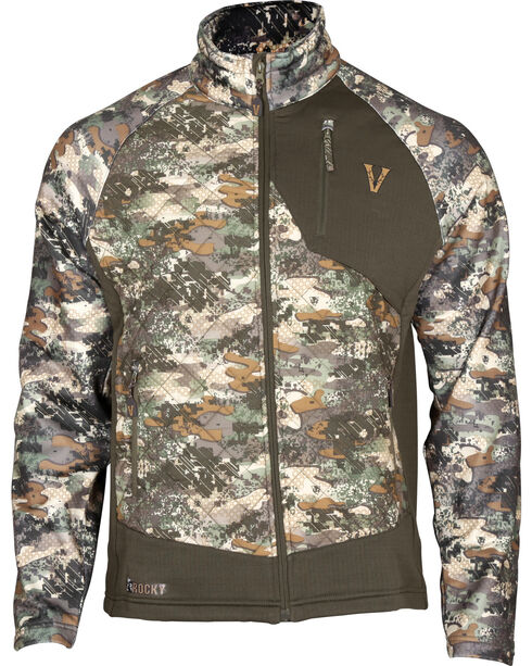 Rocky Men's Venator 80G Insulated Hybrid Jacket , Camouflage, hi-res