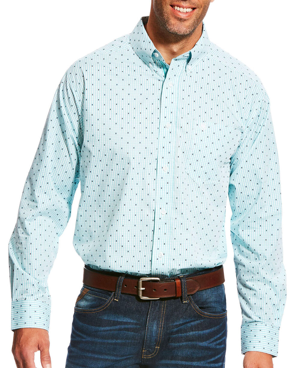 Ariat Men's Pro Series Maximillion Print Long Sleeve Button Down Shirt - Big & Tall, , hi-res