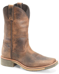 Double H Women's Trinity Western Work Boots - Soft Toe, Brown, hi-res