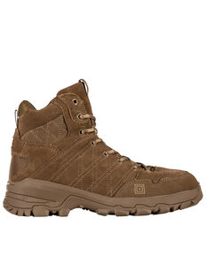 5.11 Tactical Men's Cable Hiker Tactical Boots, Dark Coyote, hi-res