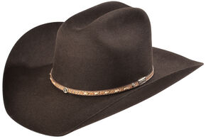 Larry Mahan Men's 3X Granger Chocolate Xtreme Cowboy Hat, Chocolate, hi-res