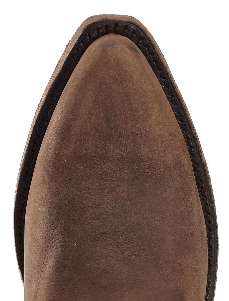 Liberty Black Vegas Fringe Boots - Pointed Toe, Dark Brown, hi-res
