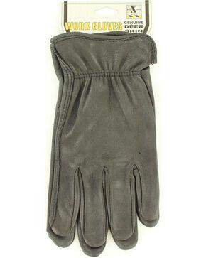 HD Xtreme Black Deerskin Gloves, Black, hi-res