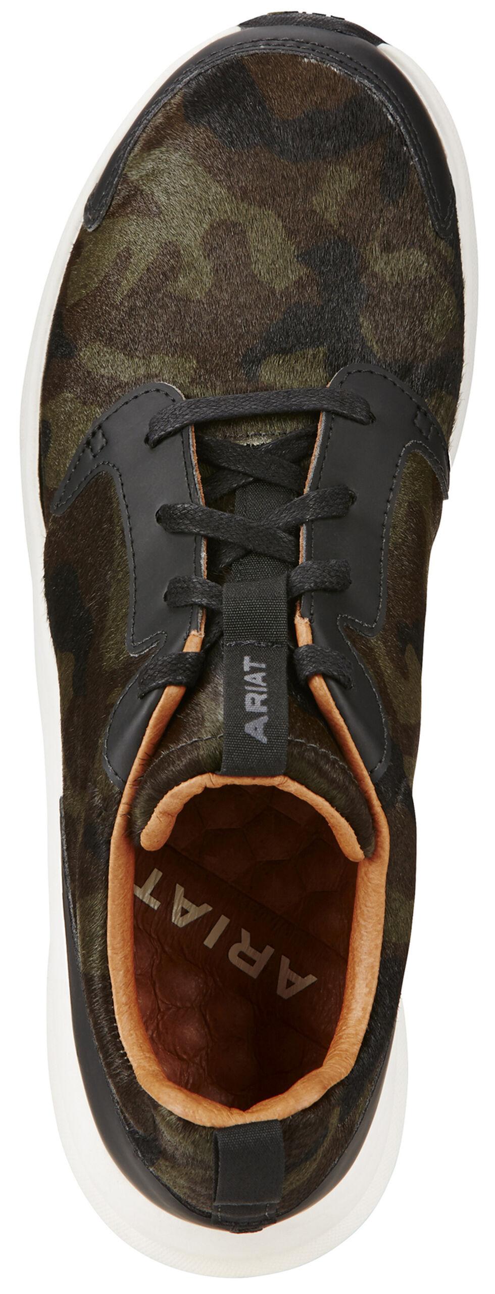 Ariat Women's Camo Suede Fusion Athletic Shoes, , hi-res