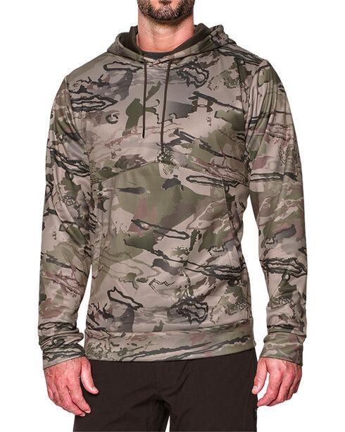 Under Armour Men's Camo Ridge Reaper Hoodie , Camouflage, hi-res