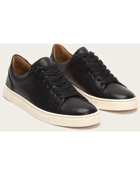 Frye Women's Black Ivy Low Lace Sneakers , Black, hi-res