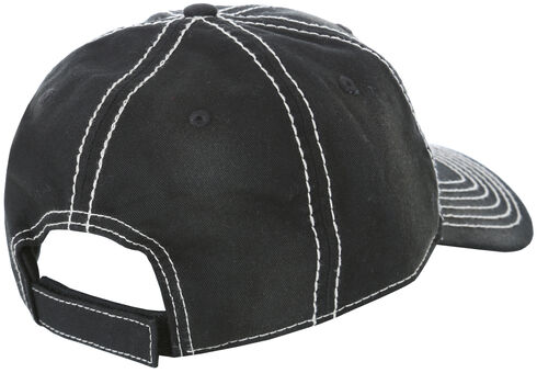 Wrangler Black Logo Cap , Black, hi-res
