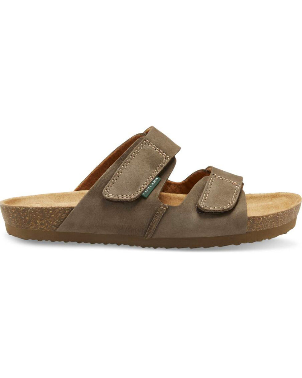 Eastland Men's Caleb Slide Sandals, Olive, hi-res