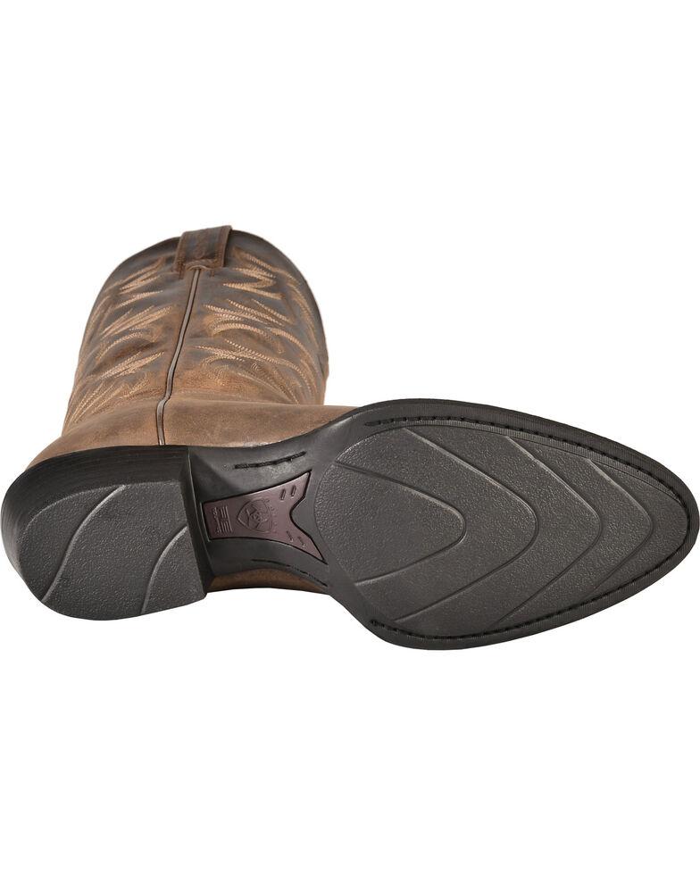 Ariat Heritage Cowboy Boots - Medium Toe, Distressed, hi-res