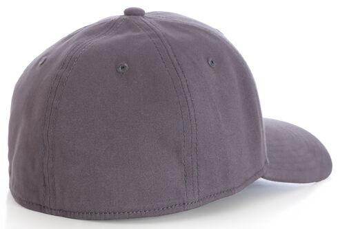 Wrangler Men's Distressed Stretch Fit Cap, Charcoal Grey, hi-res