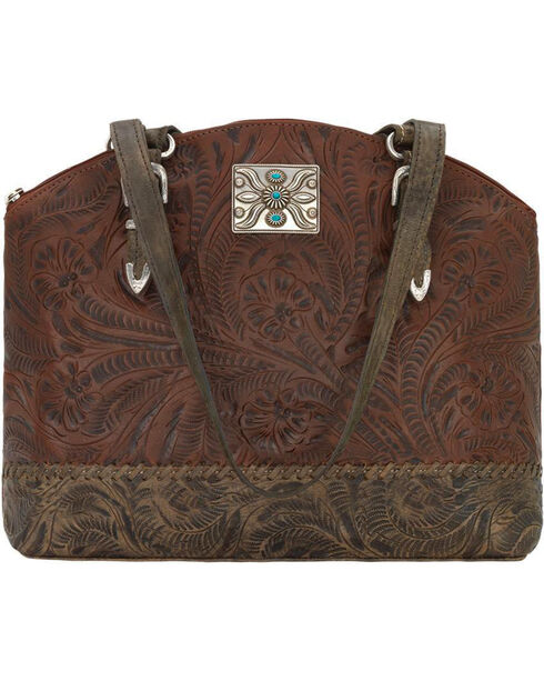 American West Women's Annie's Concealed Carry Half Moon Tote , , hi-res