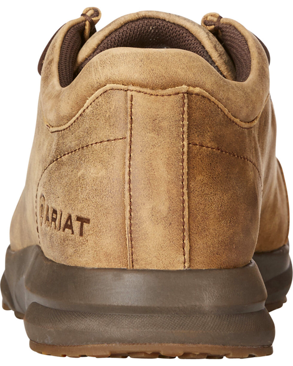 Ariat Men's Brown Spitfire Low Bomber Shoes , Lt Brown, hi-res