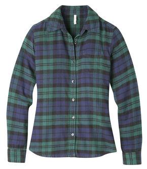 Mountain Khakis Women's Iris Plaid Aspen Flannel Shirt , Navy, hi-res