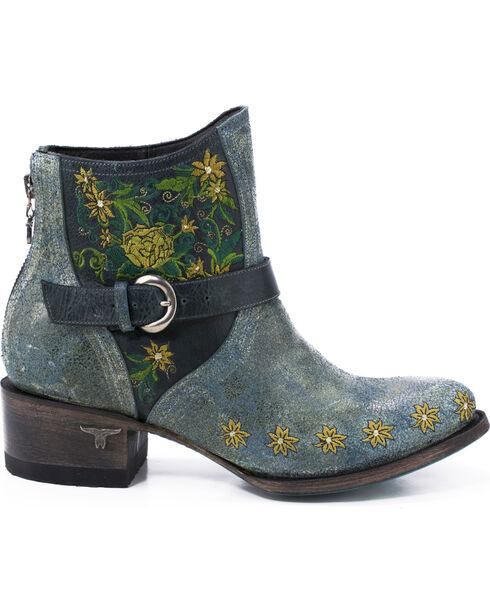 Lane Women's Boho Love Denim Boots - Round Toe , , hi-res