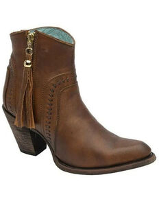 Corral Women's Cognac Fashion Booties - Round Toe, Cognac, hi-res