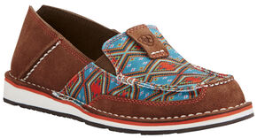 Ariat Women's Tan Aztec Cruiser Shoe - Moc Toe, Tan, hi-res