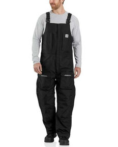 Carhartt Men's Black Yukon Extremes Insulated Work Coveralls , Black, hi-res
