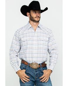 Ely Cattleman Men's Assorted Wrinkle Resistant Plaid Long Sleeve Western Shirt , Multi, hi-res