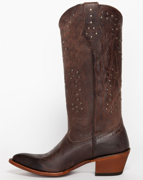 Shyanne® Women's Tall Studded Western Boots, Brown, hi-res