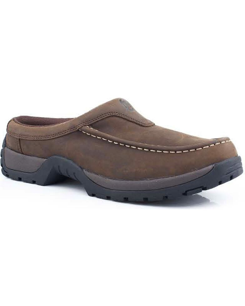 Roper Performance Lite Slip-On Casual Shoes, Brown, hi-res