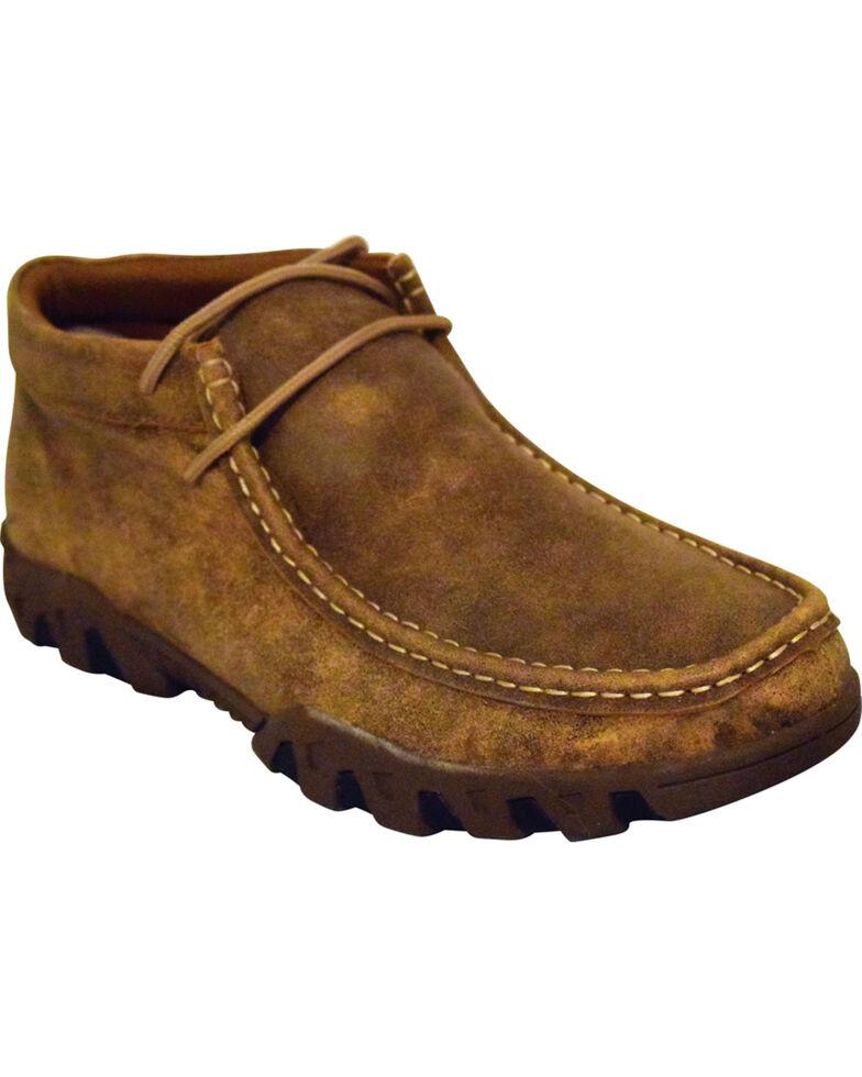 Ferrini Men's Mocha Rouge Casual Shoes - Moc Toe, Lt Brown, hi-res