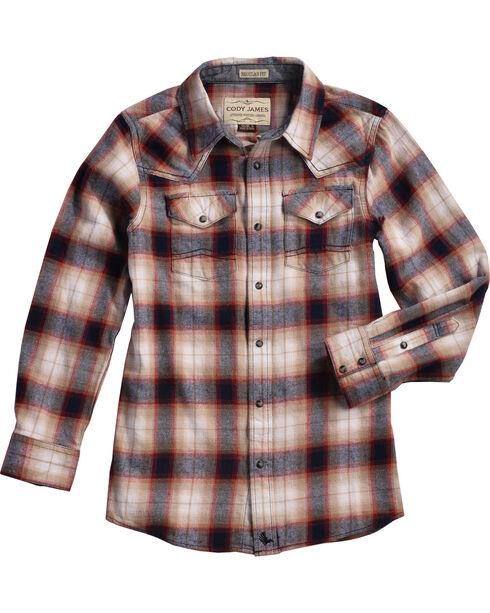 Cody James Boys' Plaid Long Sleeve Shirt , Multi, hi-res