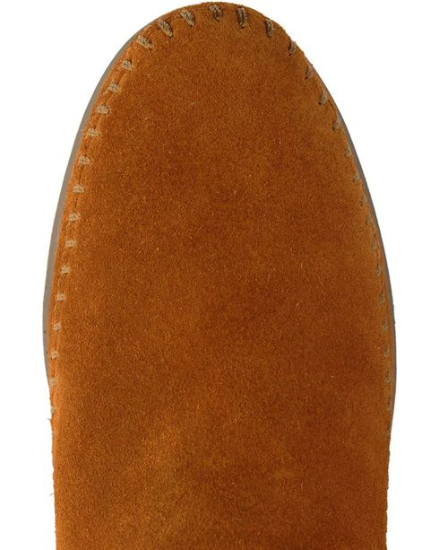 Minnetonka Ankle Moccasins, Brown, hi-res