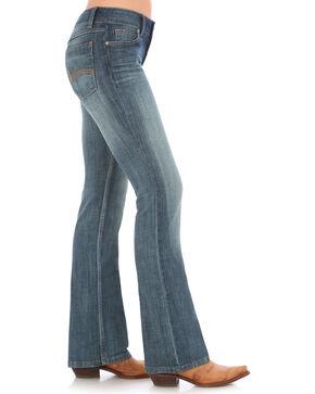 Wrangler Women's Indigo Mid-Rise Jeans - Boot Cut , Indigo, hi-res