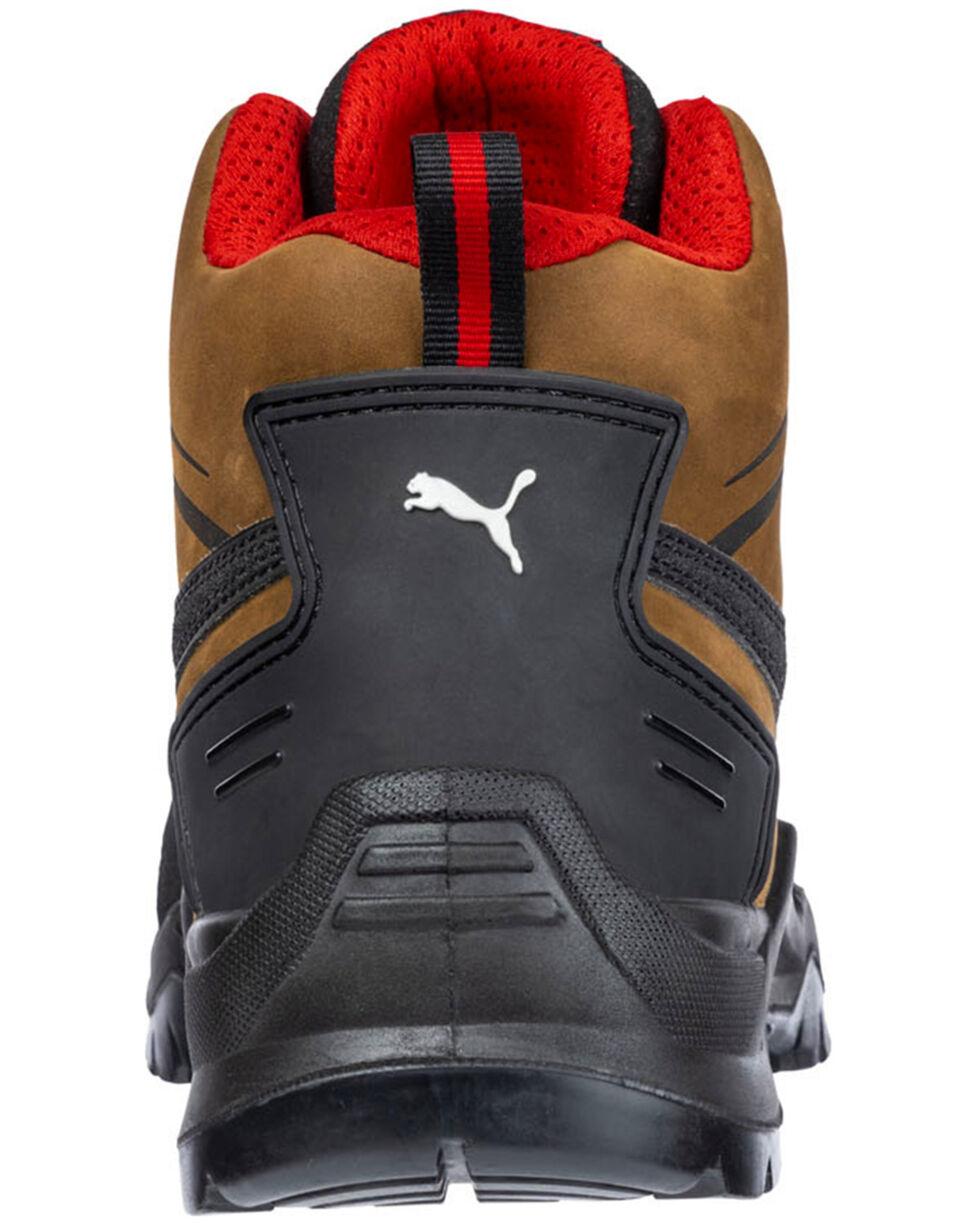 Puma Men's Brown Krypton Mid SD Boots - Composite Toe , , hi-res