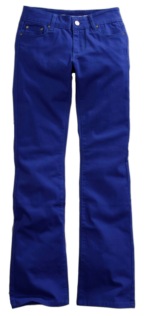 Tin Haul Women's Dolly Celebrity Colored Denim Bootcut Jeans, Royal, hi-res