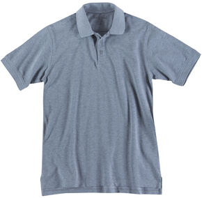 5.11 Tactical Professional Short Sleeve Polo Shirt - 3XL, Hthr Grey, hi-res