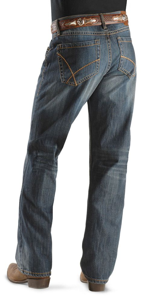 78fb9544 Zoomed Image Wrangler 20X Jeans - No. 42 Slim Fit Boot Cut, Denim, hi-