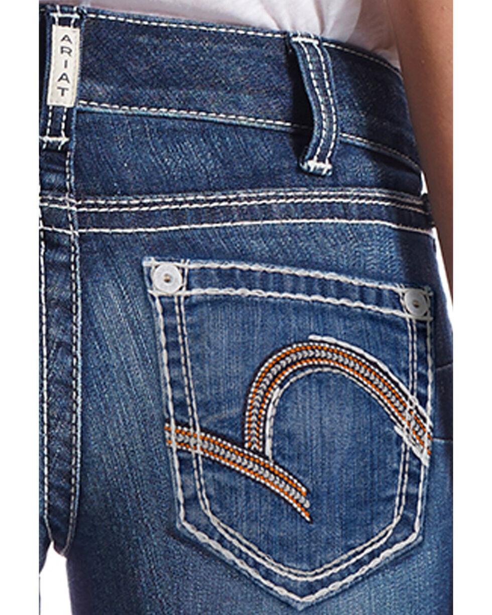 Ariat Women's R.E.A.L. Morgan Lakeshore Boot Cut Jeans  , Blue, hi-res