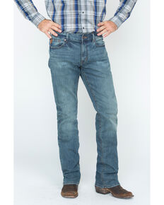 Moonshine Spirit Men's Medium Wash Jeans, Indigo, hi-res