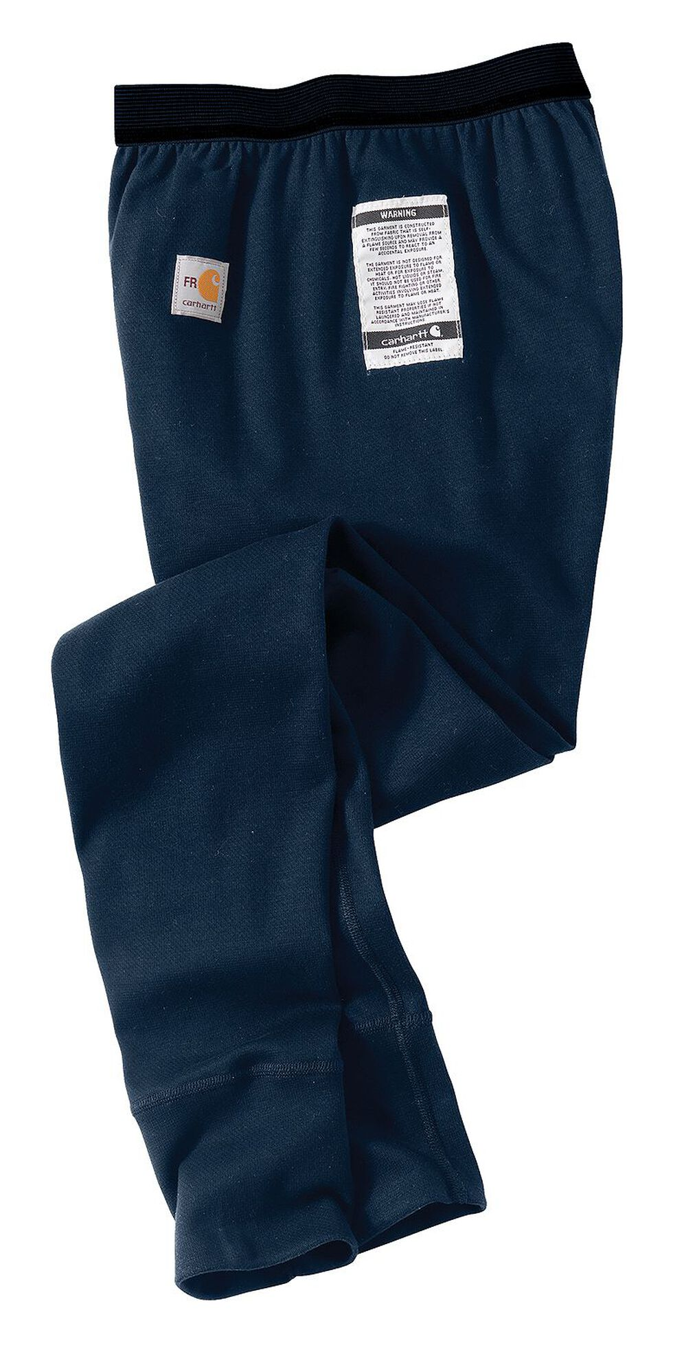 Carhartt Men's Flame-Resistant Base Force Cold Weather Bottoms - Big & Tall, Navy, hi-res