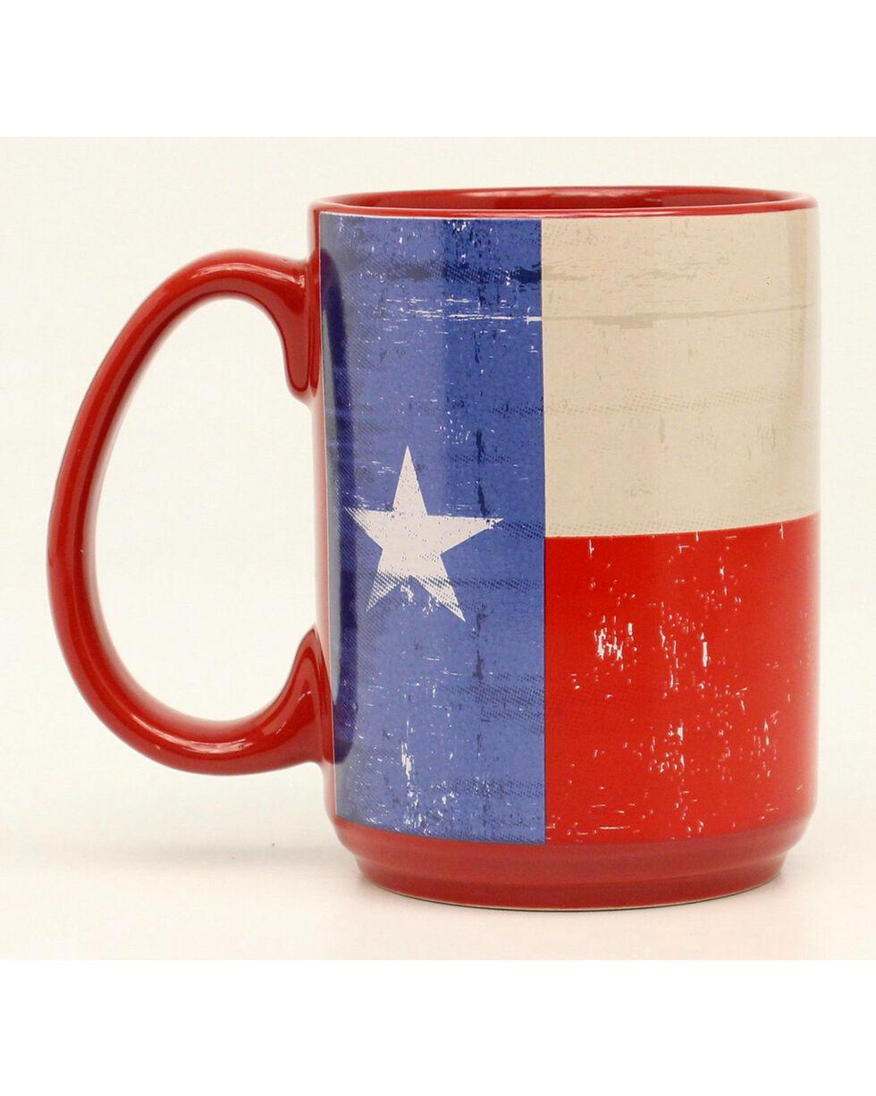 Western Moments Texas Flag Mug, Red, hi-res