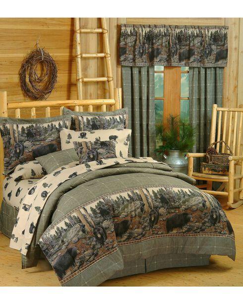 Blue Ridge Trading Bears Twin Comforter Set, Black, hi-res