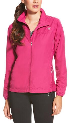 Ariat Women's Magenta Ideal Windbreaker Jacket | Sheplers