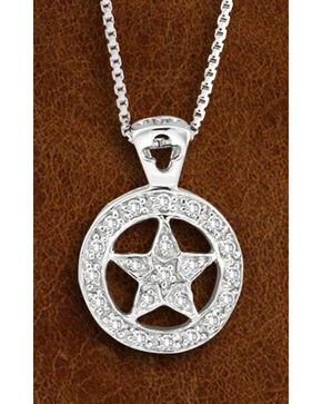 Kelly Herd Sterling Silver Western Star Necklace, Silver, hi-res