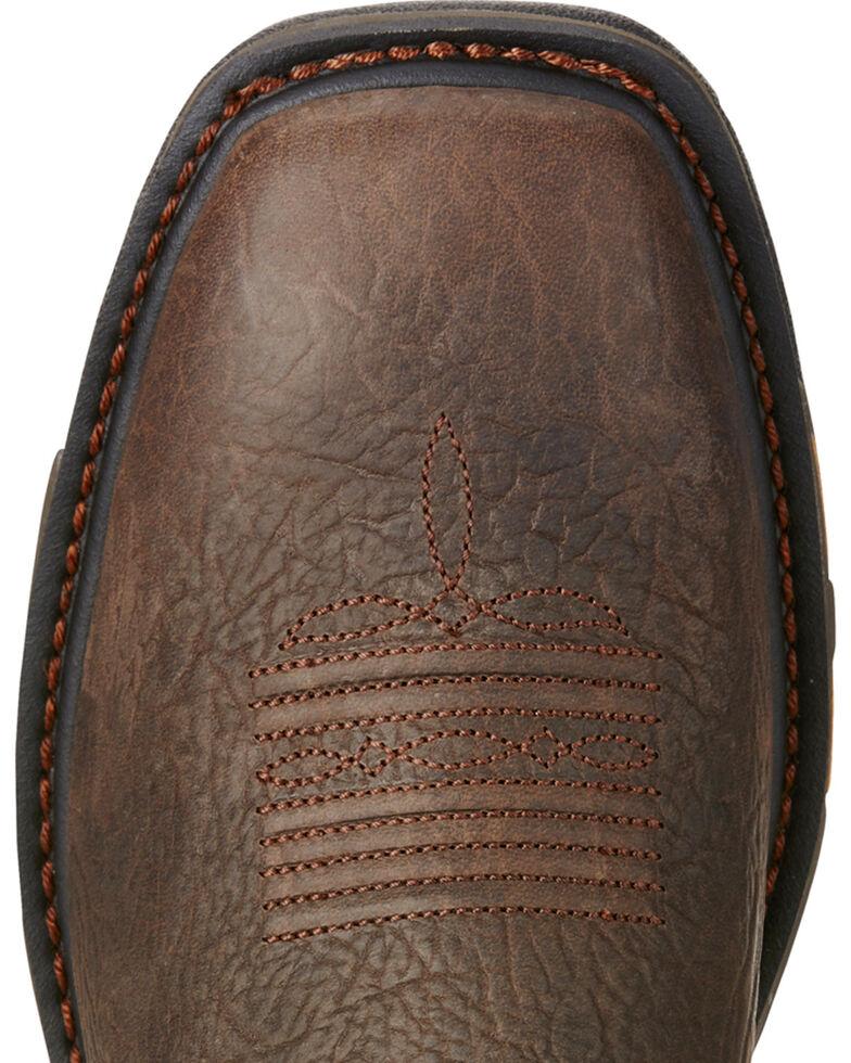 773076b4e15 Ariat Men's Brown Workhog VentTek Work Boots - Square Toe
