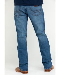 Wrangler Retro Men's Silver Bow Stretch Slim Bootcut Jeans , Blue, hi-res
