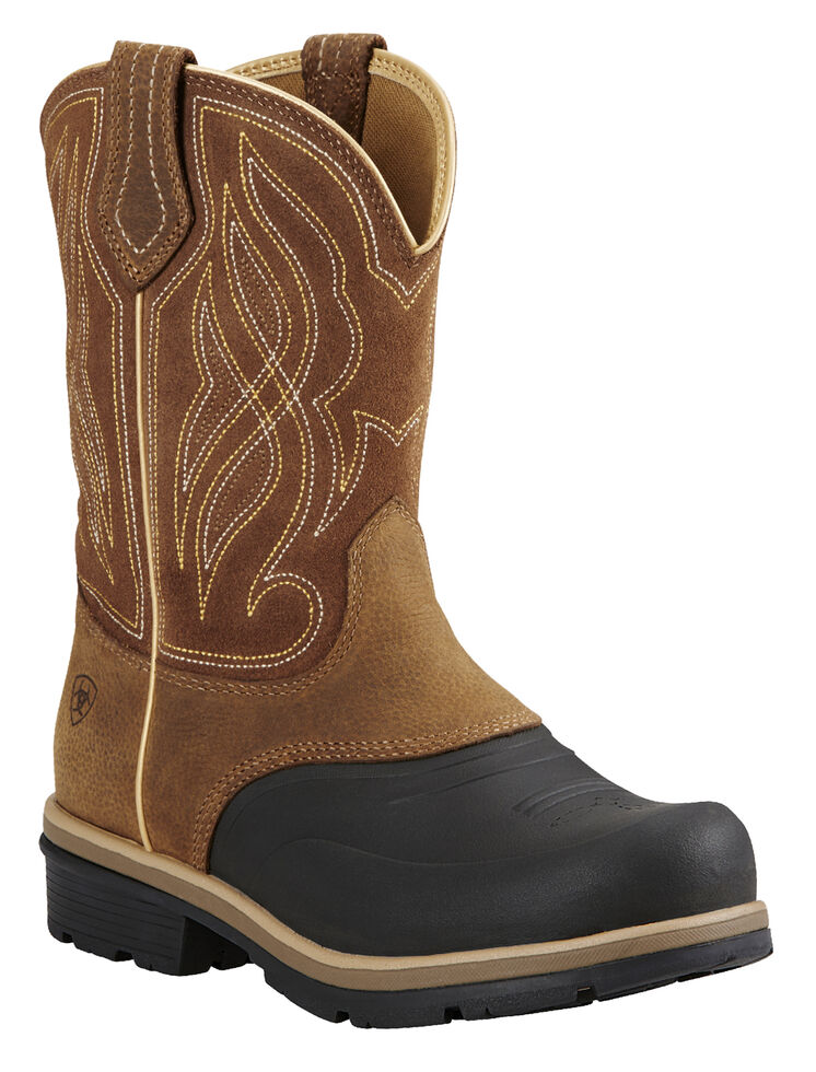 Ariat Caramel Brown Whirlwind Cowgirl Boots - Round Toe, , hi-res