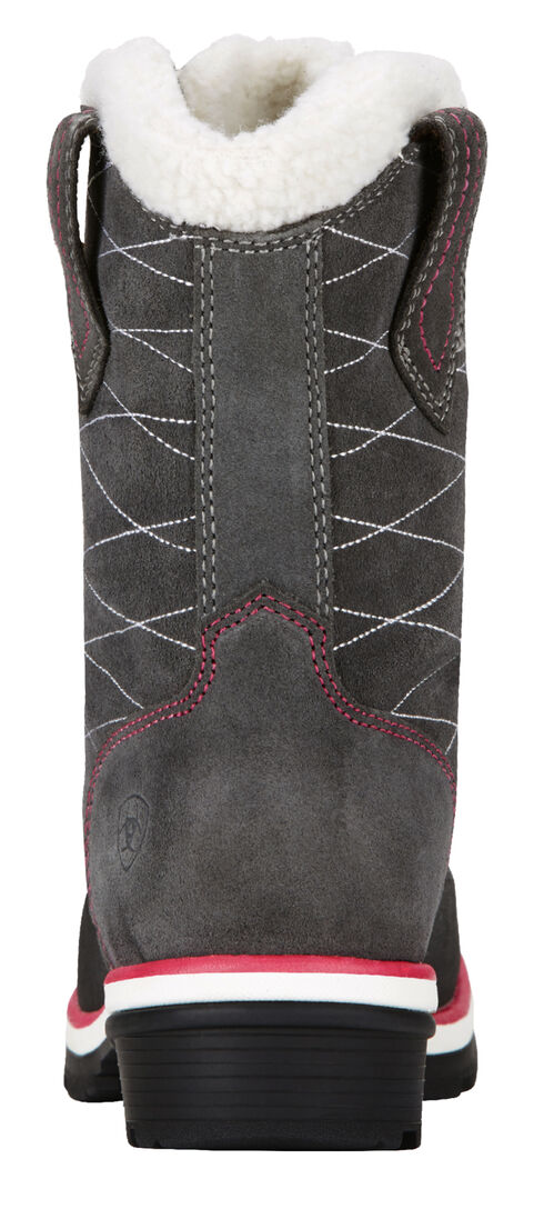 Ariat Pewter Whirlwind Cozy Lace-Up Cowgirl Boots - Round Toe, Pewter, hi-res