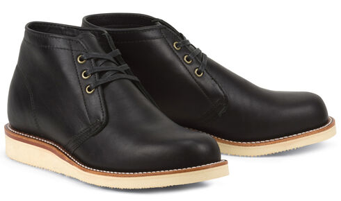 Chippewa Men's 1955 Original Modern Suburban Black Boots - Round Toe, Black, hi-res