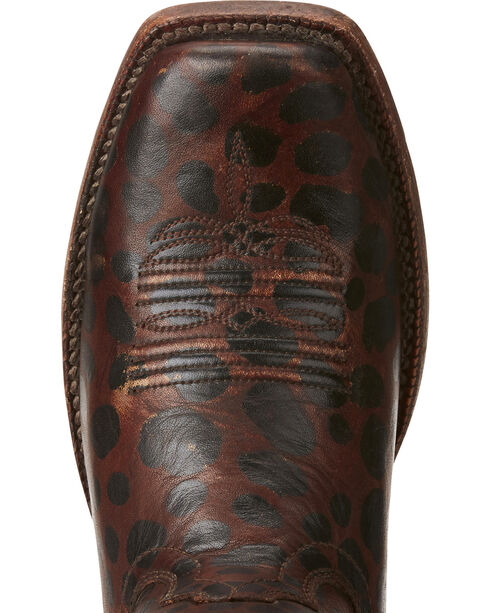 Ariat Women's Western Wildcat Cowgirl Boots - Square Toe, Leopard, hi-res