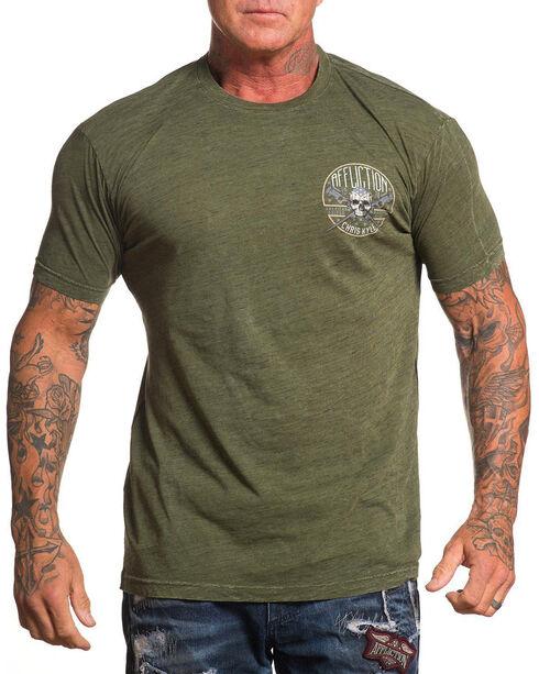 Chris Kyle Men's Warrior Spirit Short Sleeve Tee , Green, hi-res