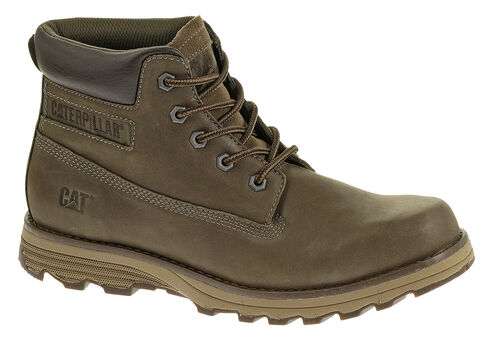 Caterpillar Men's Founder Boston Lace Up Work Boots, Mud, hi-res