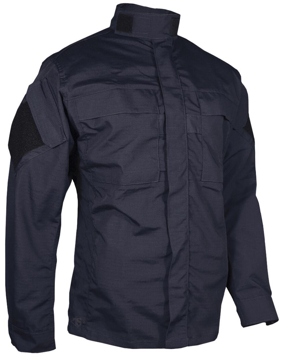 Tru-Spec Men's Navy Urban Force TRU Long Sleeve Shirt , Navy, hi-res