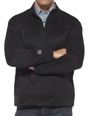 Ariat Tek Pullover Shirt, Black, hi-res